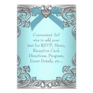 Trullo RSVP azul de uso múltiple Invitación Personalizada