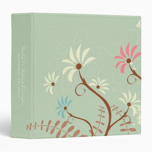 Trullo suave elegante + carpeta floral poner crema