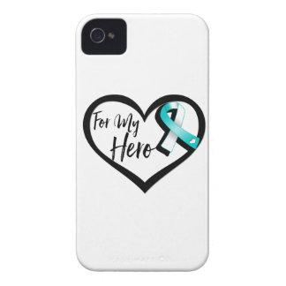 Trullo y cinta blanca de la conciencia para mi carcasa para iPhone 4 de Case-Mate