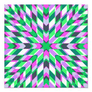 Trullo y fractales rosados arte con fotos