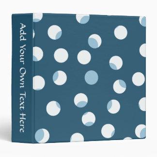 """Trullo y modelo de punto blanco. Azulverde Carpeta 1 1/2"""""""