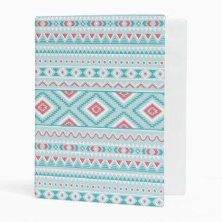Trullo y modelo tribal azteca rosado mini carpeta