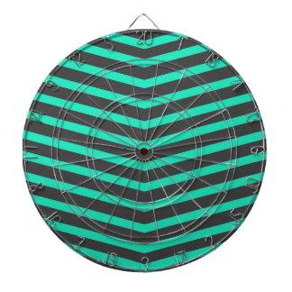 Trullo y rayas negras largos de moda populares del tablero de dardos