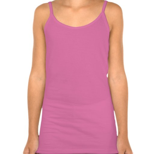 """Trullo y rosa camisetas sin mangas de los chicas """""""