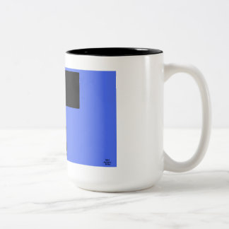"Truly Awesome Design - Coffee Mug- ""Electrifying"" Two-Tone Coffee Mug"