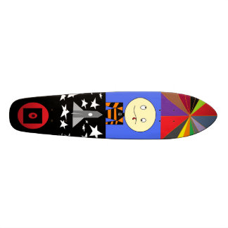 Truly Awesome Design - Colage Skateboard
