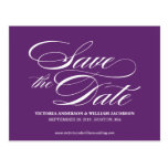 TRULY ELEGANT | SAVE THE DATE ANNOUNCEMENT POST CARDS