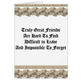 Truly Great Friends Greeting Card