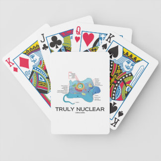 Truly Nuclear (Animal Cell Eukaryote Eukaryotic) Bicycle Playing Cards