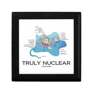 Truly Nuclear (Animal Cell Eukaryote Eukaryotic) Keepsake Box
