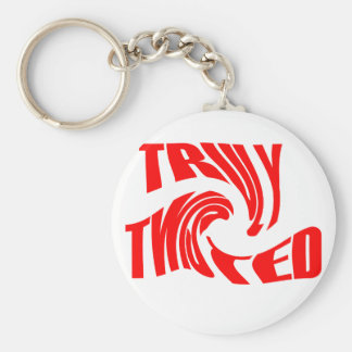 Truly Twisted Keychain