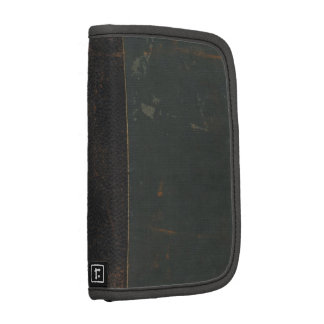 Truly vintage: retro old, leather bound book cover planners