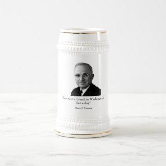 Truman and funny quote mug
