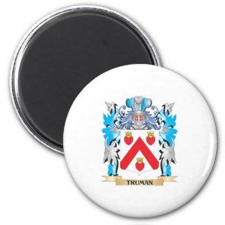Truman Coat of Arms - Family Crest Fridge Magnet