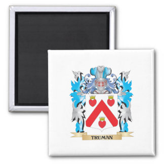 Truman Coat of Arms - Family Crest Magnets