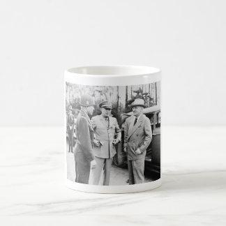 Truman, Eisenhower, And Hickey -- WWII Coffee Mug