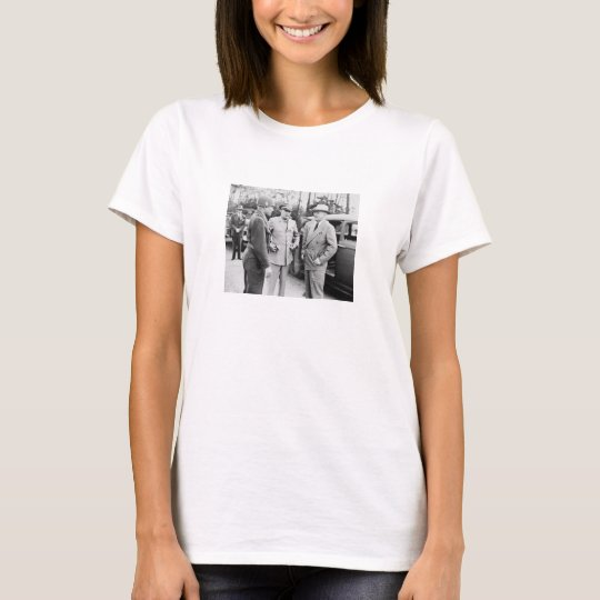 Truman, Eisenhower, And Hickey -- WWII T-Shirt