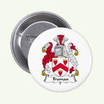 Truman Family Crest Button