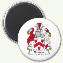 Truman Family Crest Magnet