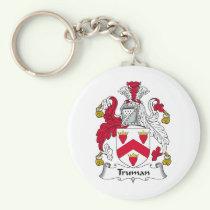 Truman Family Crest Keychain
