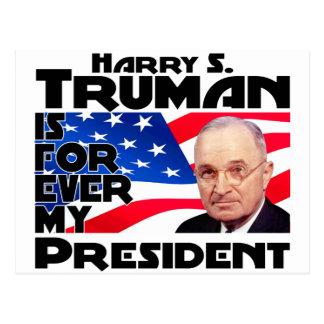 Truman Forever Postcard