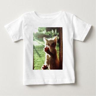 Truman in kitchen window baby T-Shirt