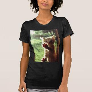 Truman in kitchen window T-Shirt