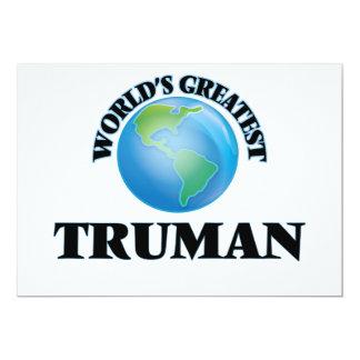 Truman más grande del mundo anuncios