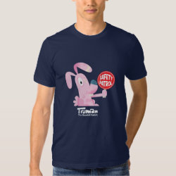 Truman the roadkill rabbit t-shirt
