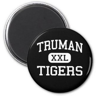 Truman - Tigers - High - Levittown Pennsylvania 2 Inch Round Magnet