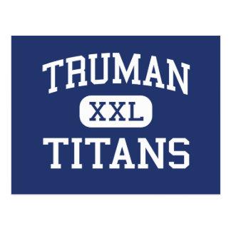 Truman Titans Middle Tacoma Washington Post Card