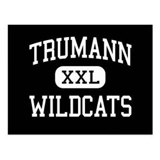 Trumann - Wildcats - High - Trumann Arkansas Postcard