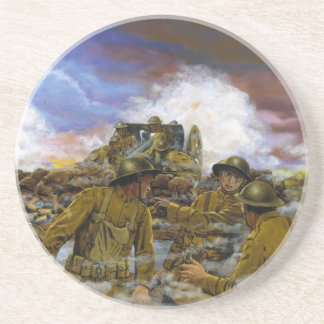 Truman's Battery by Dominic D'Andrea Beverage Coasters