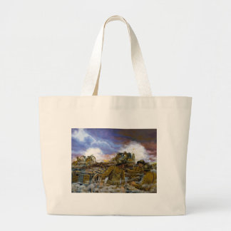 Truman's Battery by Dominic D'Andrea Large Tote Bag