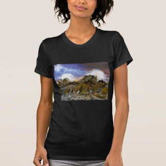 Truman's Battery by Dominic D'Andrea T-Shirt