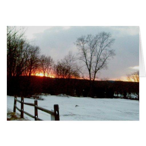 Trumbauersville Sunset Note Card