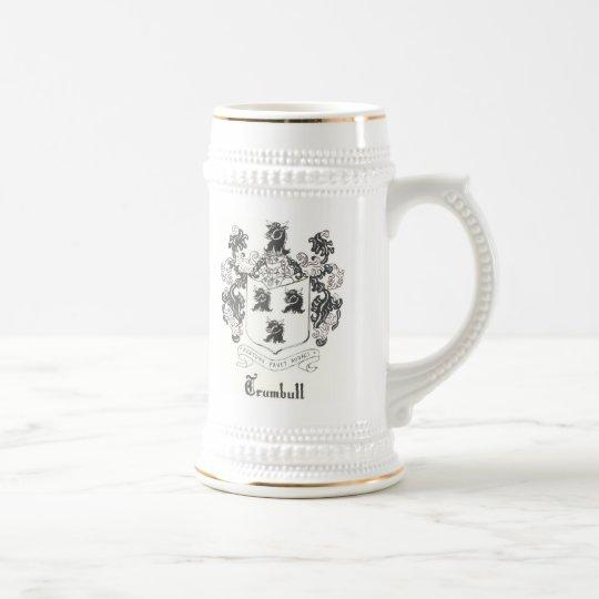 Trumbull Crest Beer Stein