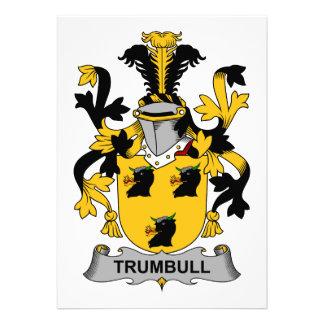 Trumbull Family Crest Announcement