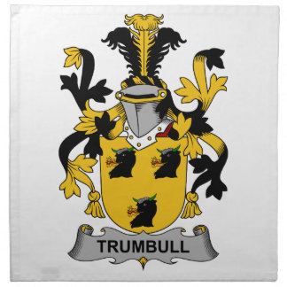 Trumbull Family Crest Napkin