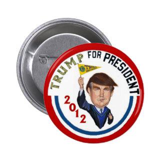 Trump 2012 2 inch round button