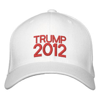 Trump 2012 Embroidered Hat