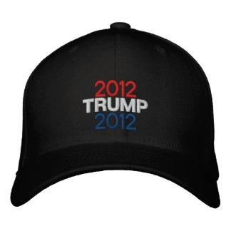 Trump 2012 Embroidered Hat - BLACK