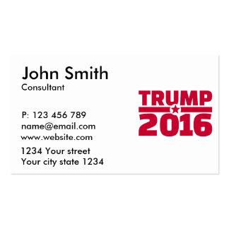 Trump 2016 business card