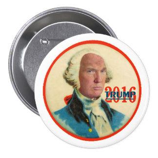 Trump 2016 3 inch round button