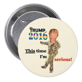 Trump 2016 button