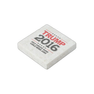 TRUMP 2016 - Create more cable news jobs Stone Magnet