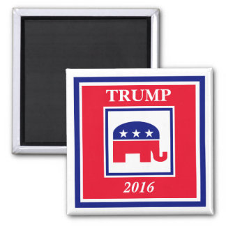 TRUMP 2016 Election 2 Inch Square Magnet
