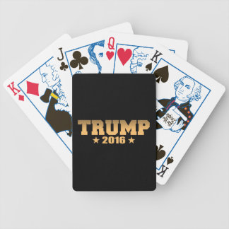 Trump 2016 Gold Election Edition Bicycle Playing Cards