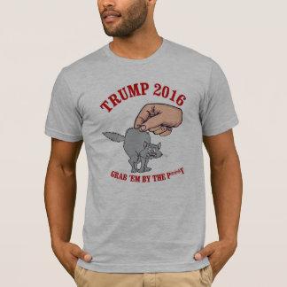 Trump 2016 - Grab 'em by the p---- - - Presidentia T-Shirt