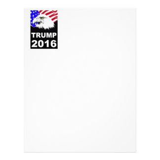 Trump 2016 letterhead
